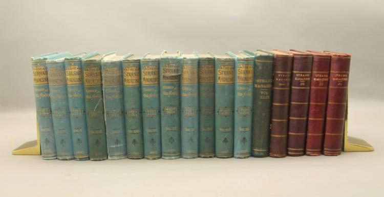 THE STRAND MAGAZINE. 17 Vols. Sherlock Holmes.
