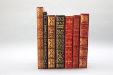 7 books: Defoe, Franklin, Emerson, Dante...