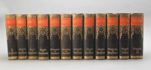 MEYER'S LEXIKON. 12 Vols. 1924-30. Half leather.
