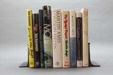 9 signed books: 2 by Dan Kavanagh, 7 Martin Amis.
