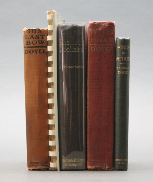 5 Books incl: THE RETURN OF SHERLOCK HOLMES, 1905.