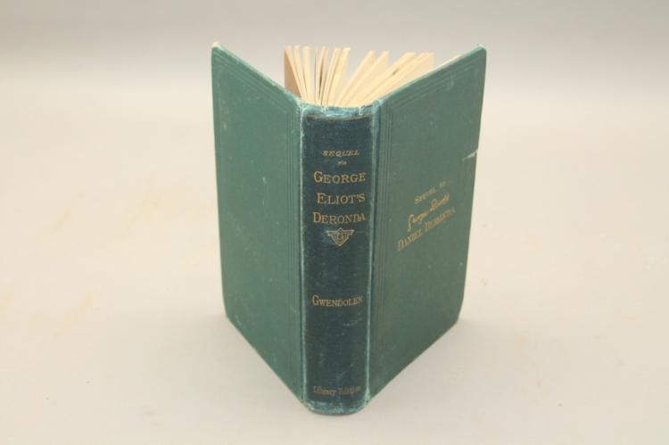 GWENDOLEN. A Sequel... Daniel Deronda. 1878.