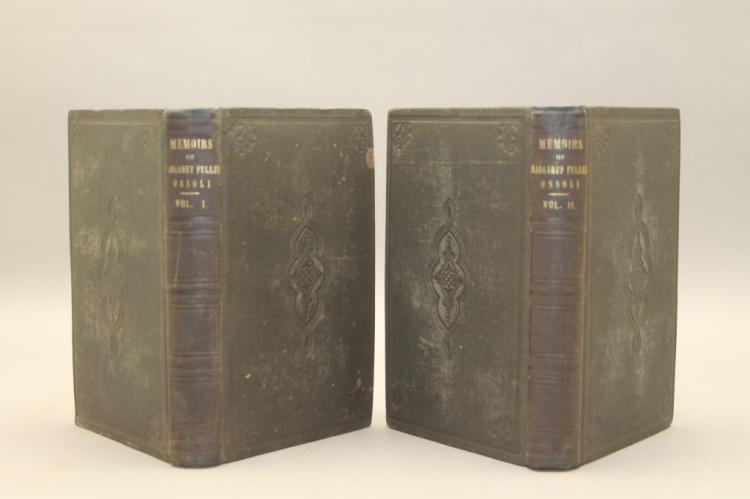 MEMOIRS OF MARGARET FULLER OSSOLI. 2 Vols. 1st ed.