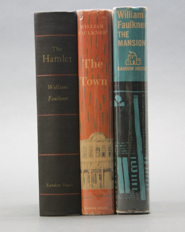 3 Firsts: THE HAMLET + THE TOWN + THE MANSION.