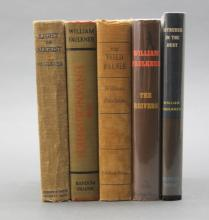 5 Firsts incl: Faulkner. INTRUDER IN THE DUST.