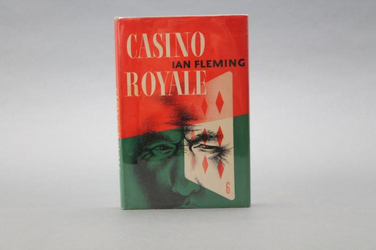 Fleming. CASINO ROYALE. Macmllan, 1954. 1st US ed.