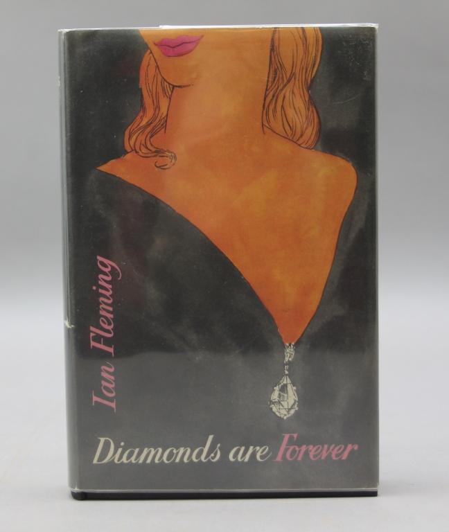 Fleming. DIAMONDS ARE FOREVER (1956). 1st ed.