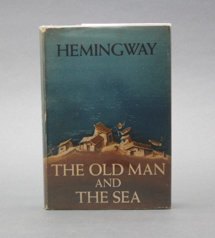 Hemingway. THE OLD MAN AND THE SEA. 1st issue dj.
