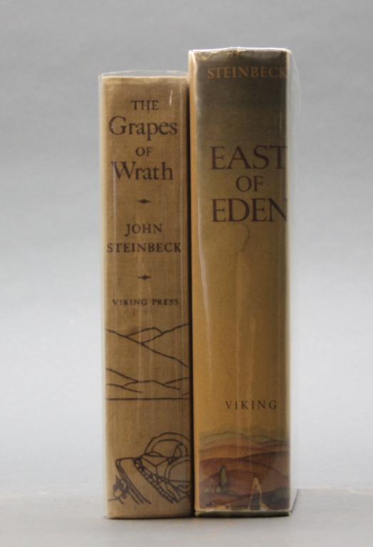 2 Steinbeck incl: THE GRAPES OF WRATH. 1st edition