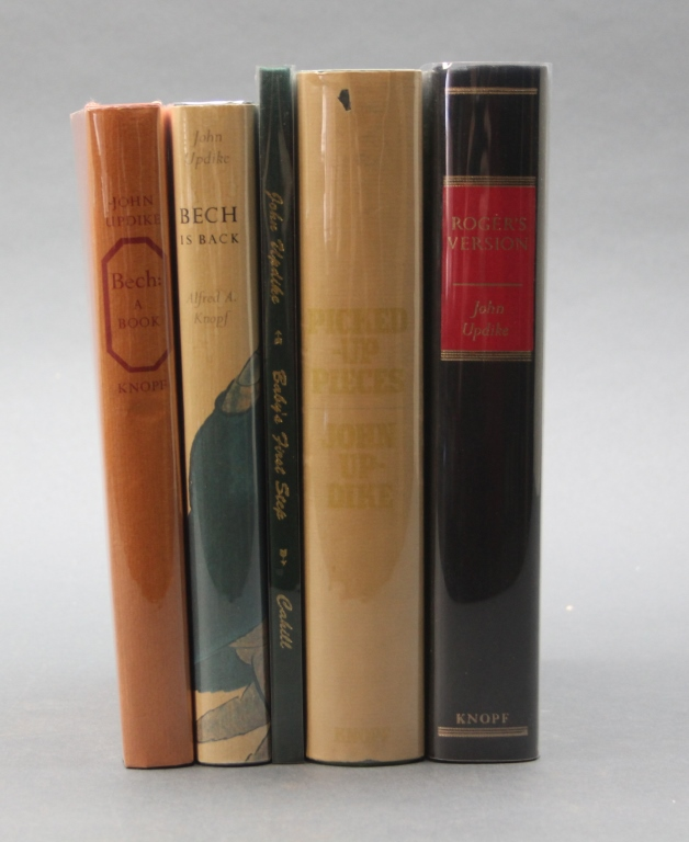 5 John Updike signed, limited editions.