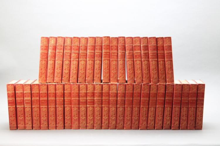 THE WORKS OF VOLTAIRE. 42 Vols.