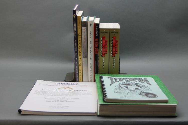 10 Vols: Tarzan, Edgar Rice Burroughs, etc.