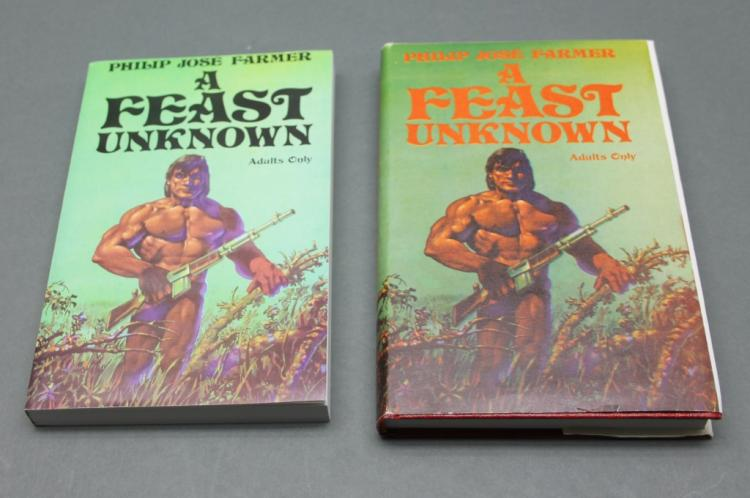 Farmer A FEAST UNKNOWN: 2 copies (Signed HC + SC)