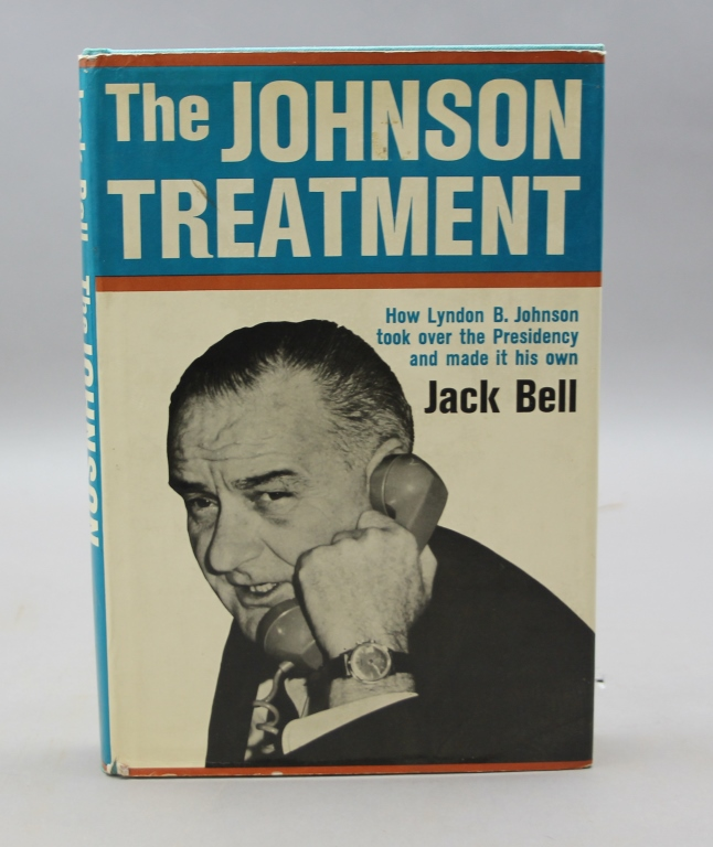 Inscribed: Lyndon Johnson: THE JOHNSON TREATMENT