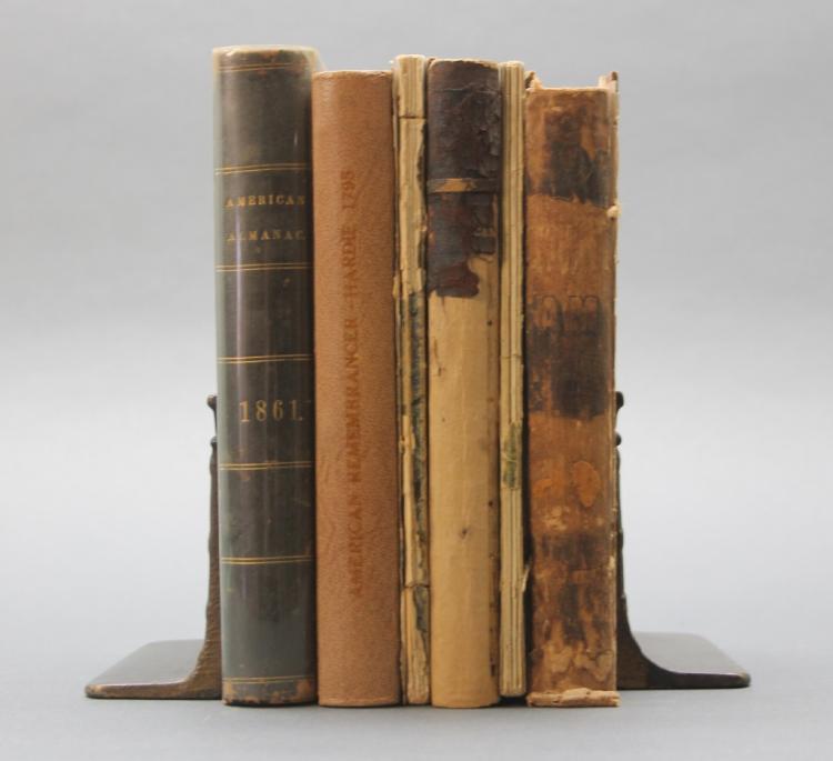 6 Almanacs, 1795-1861.
