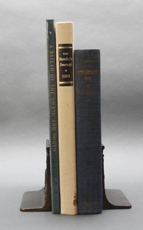 3 Books incl: COLONEL HEROS VON BORCKE'S... 1/180.