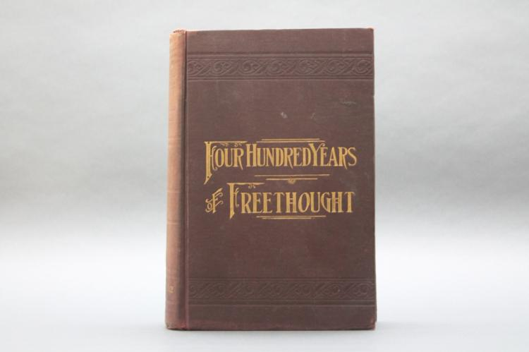 S. P. Putnam: 400 YEARS OF FREETHOUGHT. 1894.
