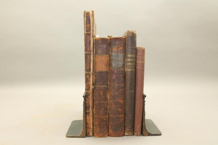 5 Books incl A COLLECTION OF ACTS... QUAKERS. 1757