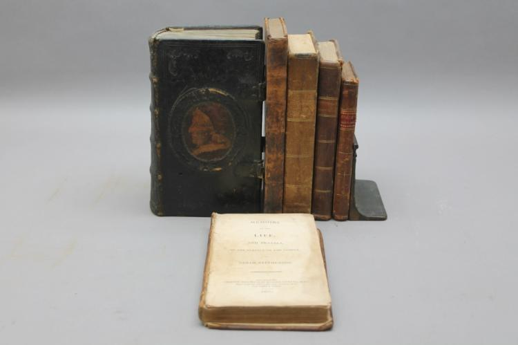6 Vols (3 Quakerism-related), 1788-1836.