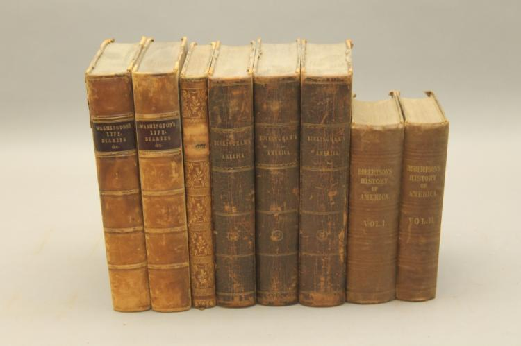 8 Vols: Washington Irving, George Washington...