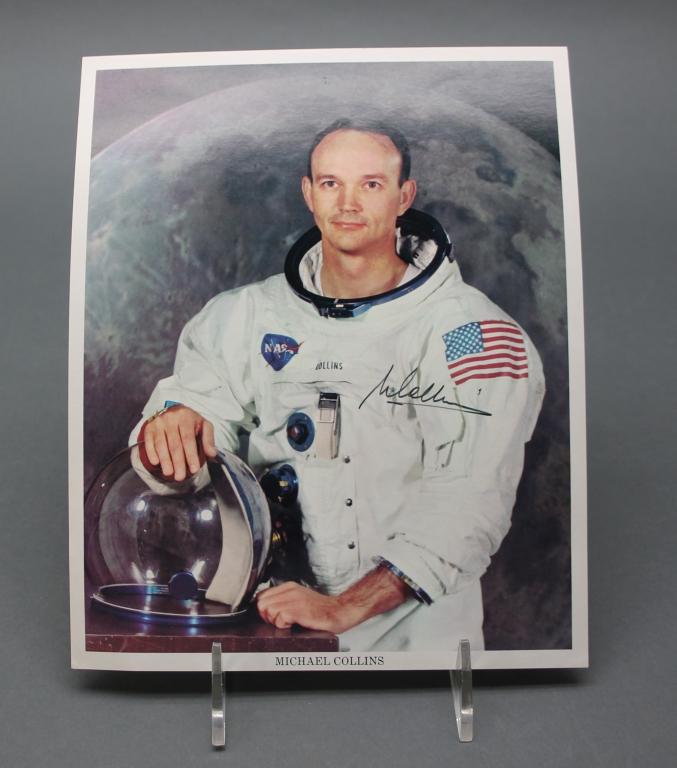 Michael Collins (Apollo XI astronaut) signed photo