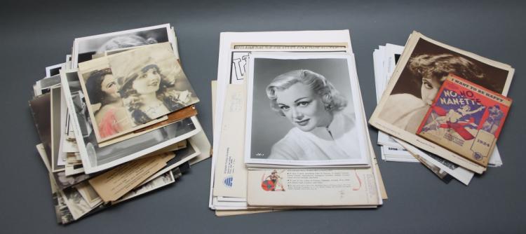 Over 175 items: Movie ephemera, photos lobby cards
