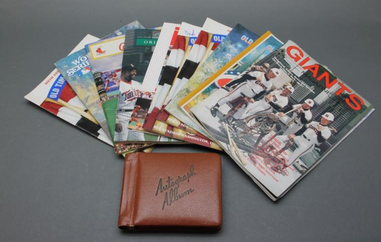 Baseball Autographs & Ephemera: DiMaggio, Epstein