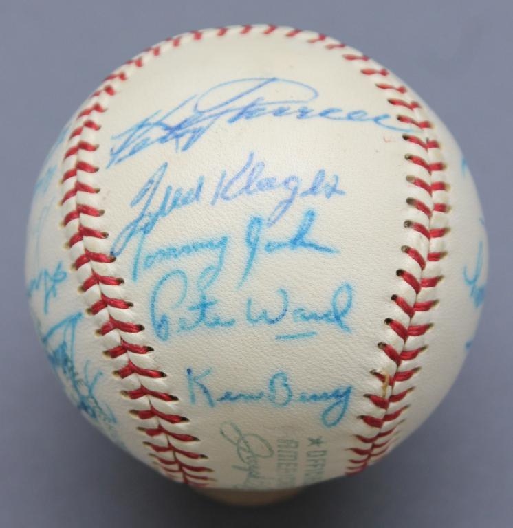 1967 Chicago White Sox Baseball w/