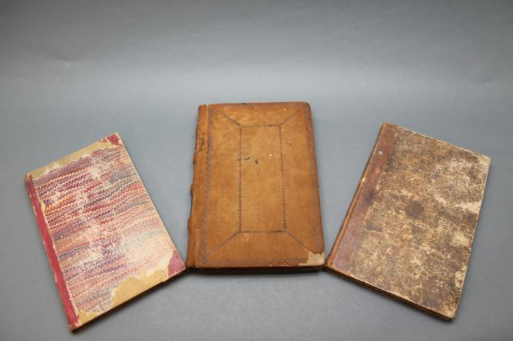 3 19th C manuscripts: 1833-1888, Pennsylvania.