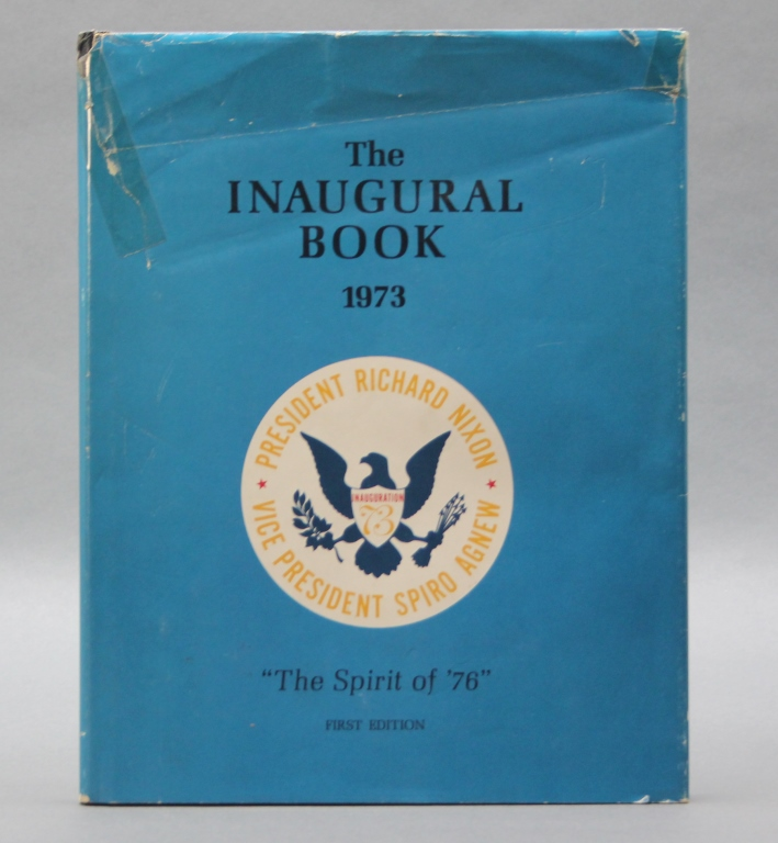 Inscribed by George H. W. Bush: THE INAUGURAL BOOK