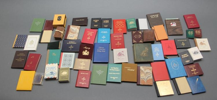 52 Vols: Mini-books, largely Francis J. Weber.