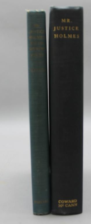 2 books signed & inscribed by Felix Frankfurter.