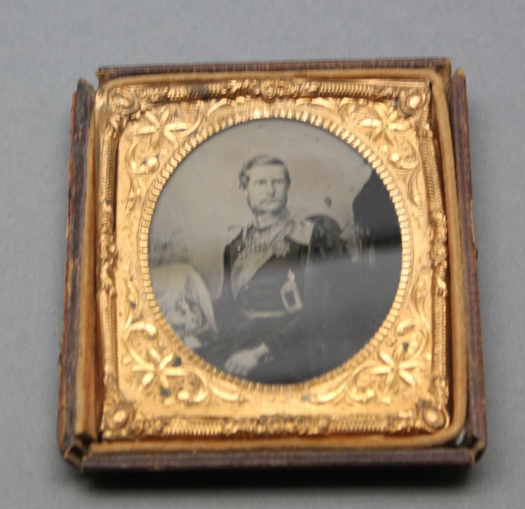 Ambrotype: Prince Frederick William of Prussia