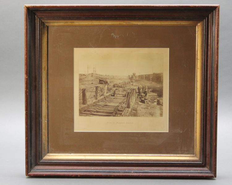 Gardner Albumen Photo from INCIDENTS OF THE WAR.