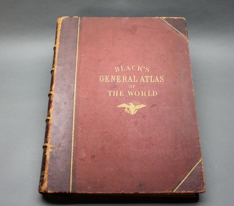 BLACK'S GENERAL ATLAS OF THE WORLD... Edin: 1885.