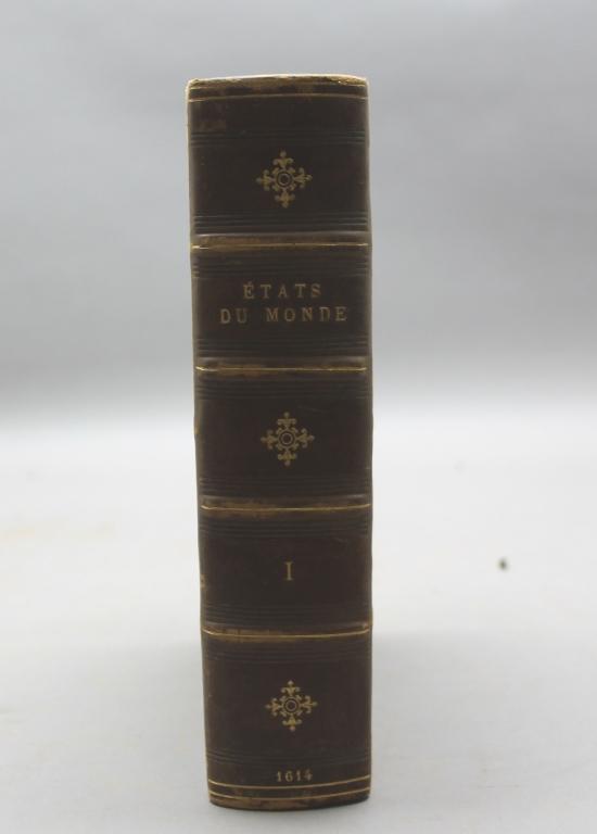 LES ESTATS, EMPIRES... Vol I. Boscard, 1614.