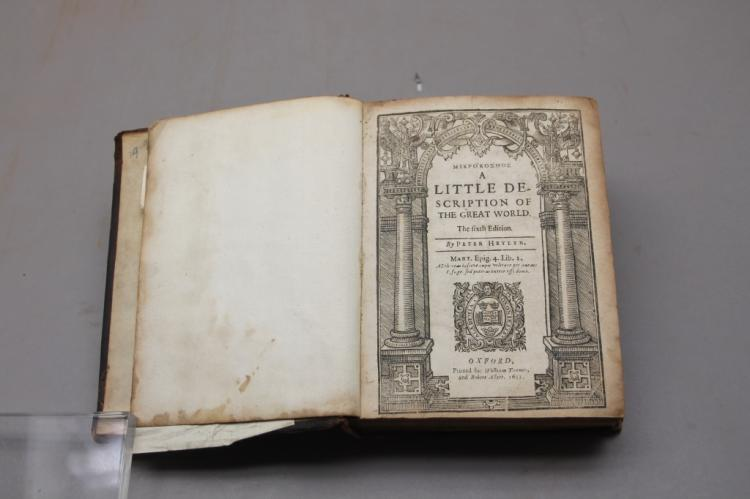 A Little Description of the Great World. 1633.