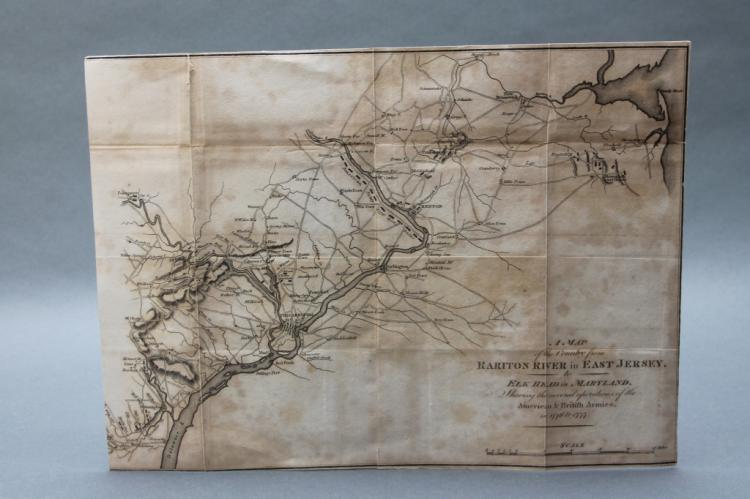 Map of the Country from the Rariton River...[1806]