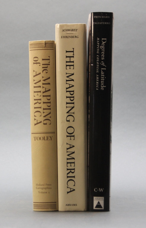 3 Map Reference Books incl: DEGREES OF LATITUDE.
