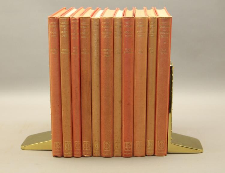 11 Books: Italian, French, British, Dutch art.