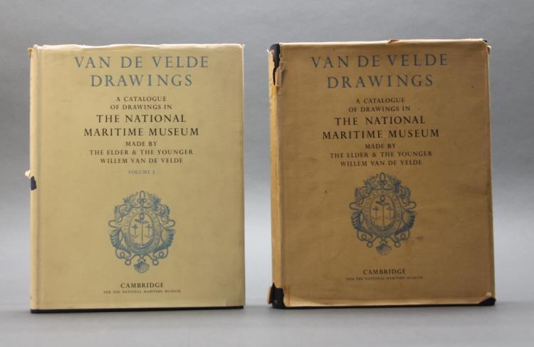VAN VELDE DRAWINGS. 2 Vols. 1958-1974.