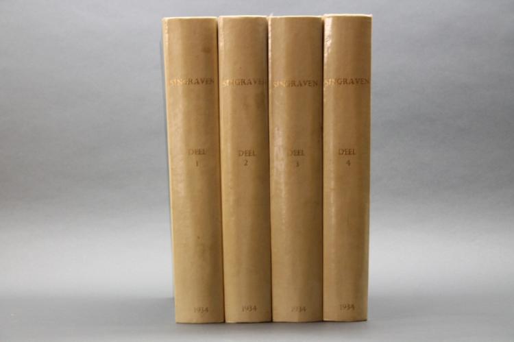 SINGRAVEN: De Geschiedenis... 4 Vols. 1934.