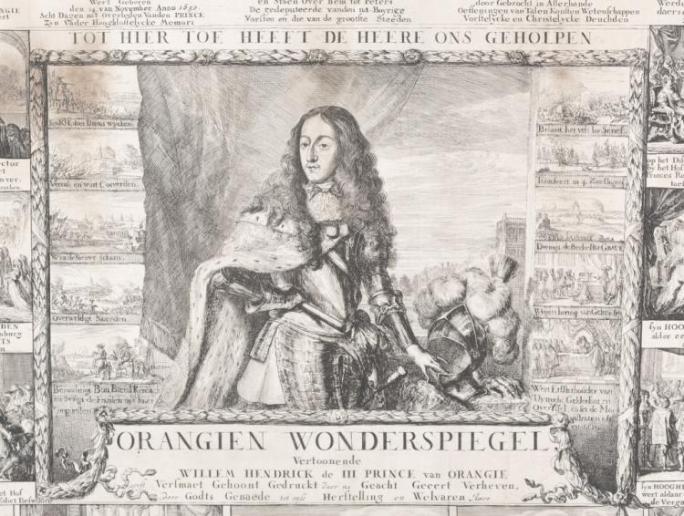 Romeyn de Hooghe: William III engraving [ca1675].