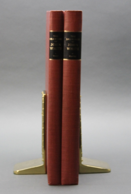 AMERICAN DRAWINGS OF JOHN WHITE. 2 Vols/slipcase.
