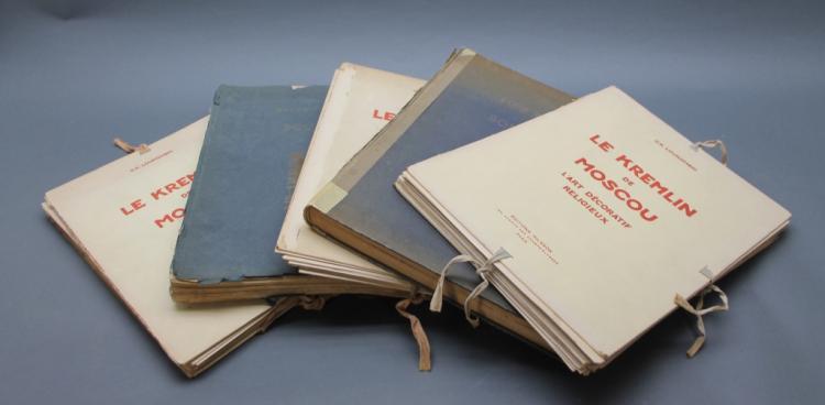 5 Vols: BOUI BOUIS, 2 eds. + LE KREMLIN DE MOSCOU.