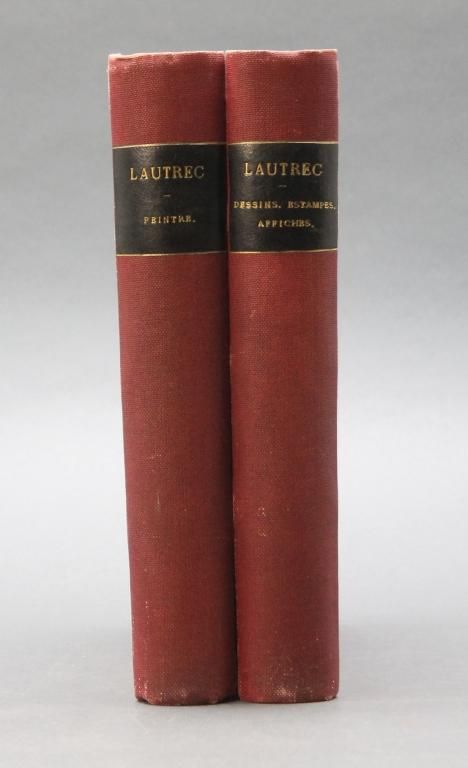HENRI TOULOUSE-LAUTREC... 2 Vols. 2 orig drypoints