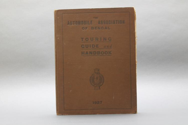 1927 Auto. Assoc. of Bengal Touring Guide w/ maps