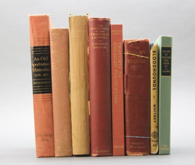 8 Books incl: THE MELTON MOWBRAY OF JOHN FERNELEY