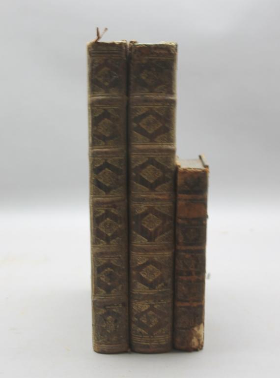 3 vols incl: Feuillee. JOURNAL... 2 Vols. 1714.