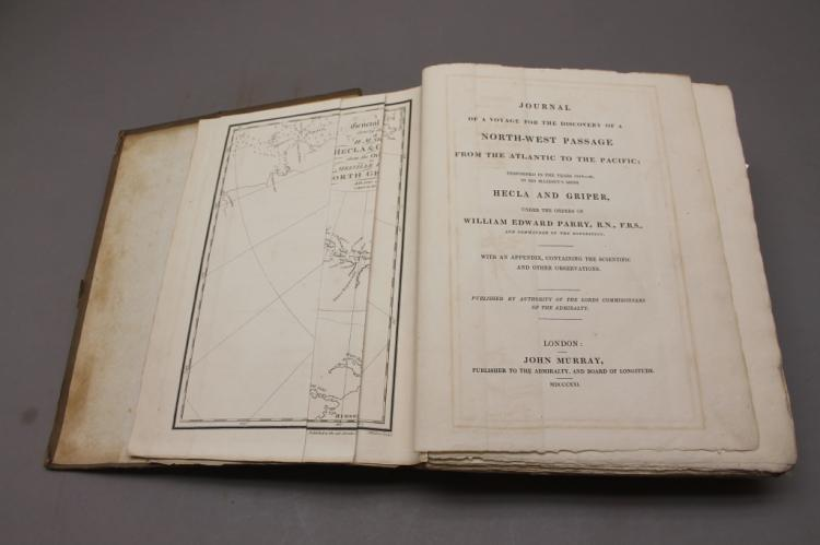 Journal..North-West Passage,1821. 1st issue 1st ed